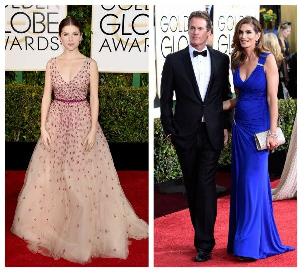 Os looks do Globo de Ouro