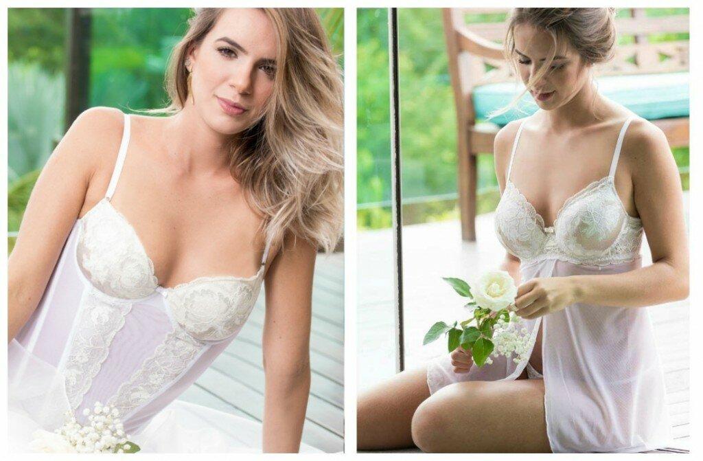 lingerie de noiva