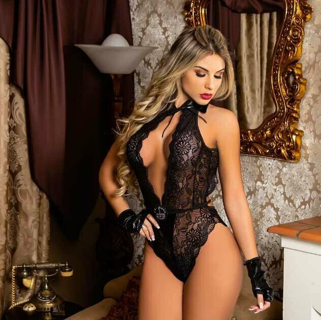 lingerie sexy preta