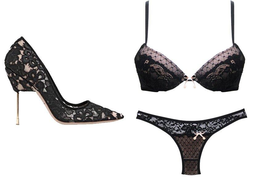lingerie e sapato