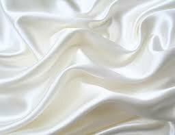 tecido branco