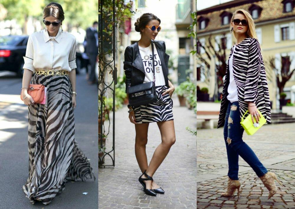 animal print zebra