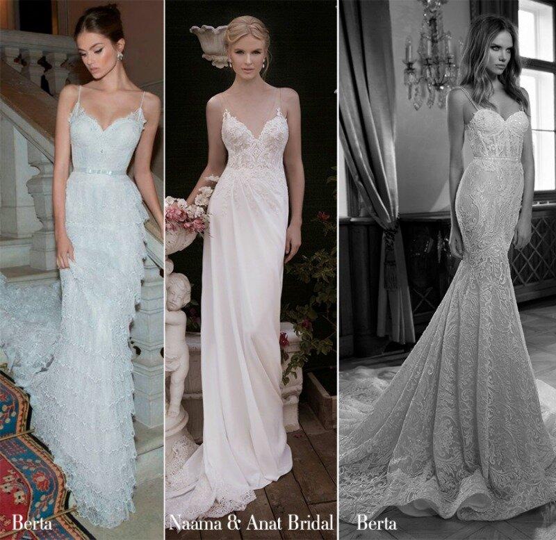 Vestidos de noiva: A inspiração é lingerie