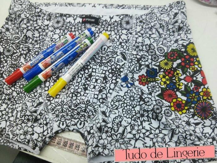 cueca de colorir