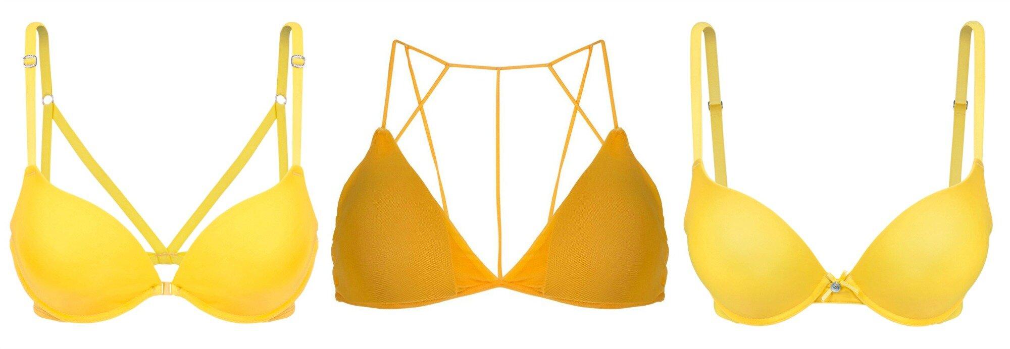 lingerie amarela