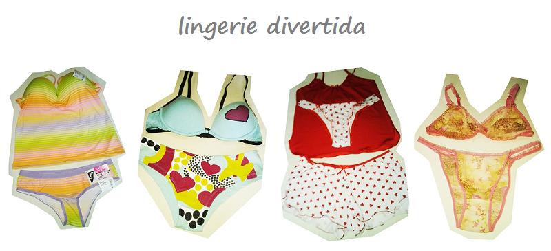 lingerie colorida