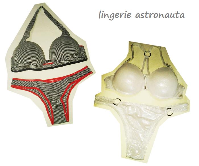lingerie metalizada, lingerie dourada, lingerie prateada