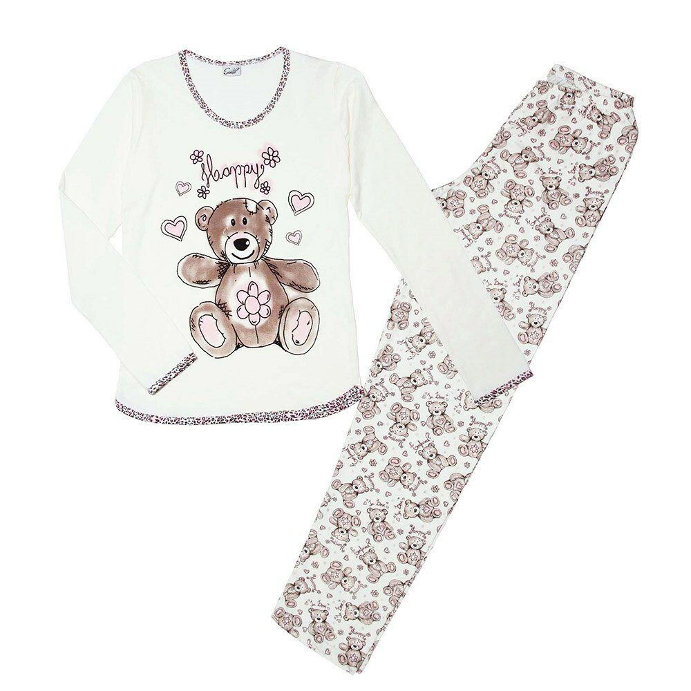 pijama-manga-longa-estampa-ursinho-sanvil-perola-frente