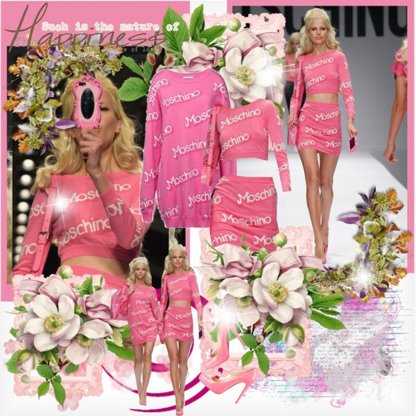 moschino 2015 se inspira na Barbie